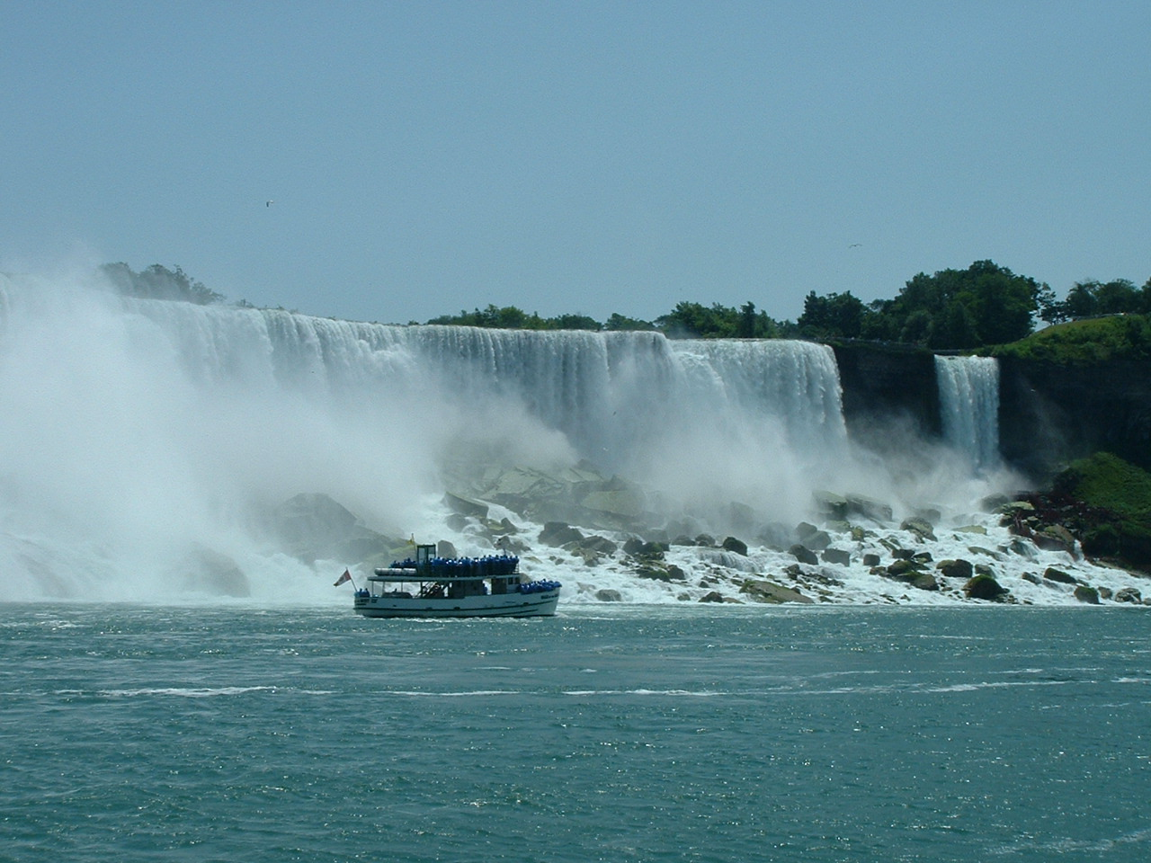 Niagara Falls from the Maid of the Mist